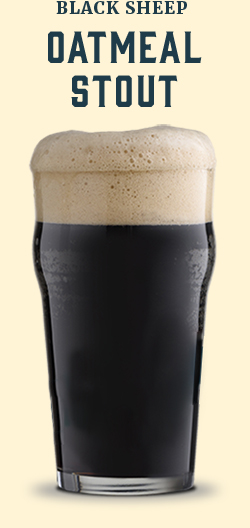 Black Sheep Oatmeal Stout - Oatmeal Stout