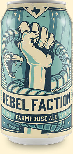 Rebel Faction - Farmhouse Ale
