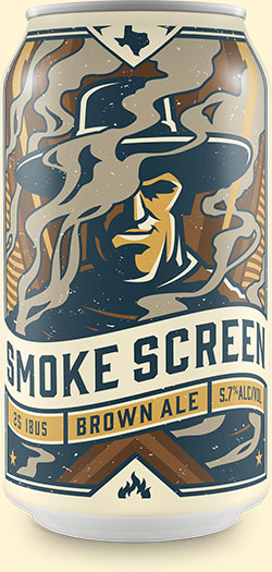 Smoke Screen - American Smoke Brown Ale